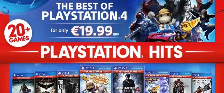 PlayStation Hits: arriva la collana di giochi PS4 a prezzo ridotto