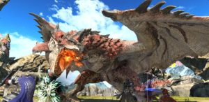Final Fantasy XIV Online e Monster Hunter: World si uniscono in un originale crossover