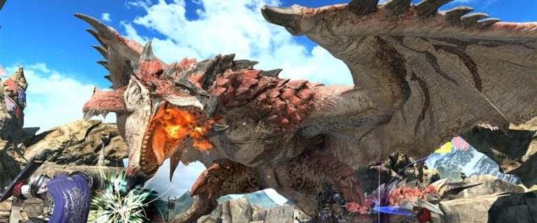 Final Fantasy XIV Online eMonster Hunter: World, la collaborazione inizia oggi