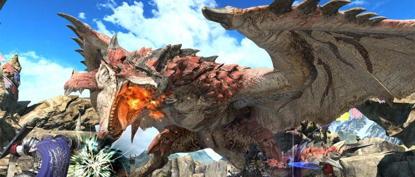 Final Fantasy XIV Online e Monster Hunter: World si uniscono in un originale crossover