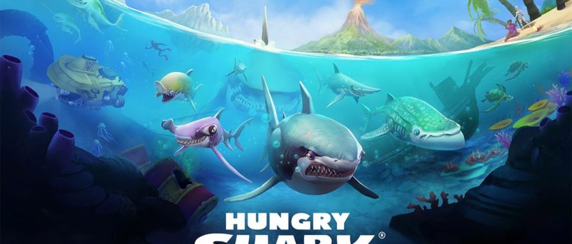 Hungry Shark World arriva il 17 luglio su PS4, Xbox One e PC