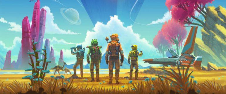 Il nuovo trailer di No Man's Sky mostra l'esperienza multiplayer e il comparto grafico rinnovato