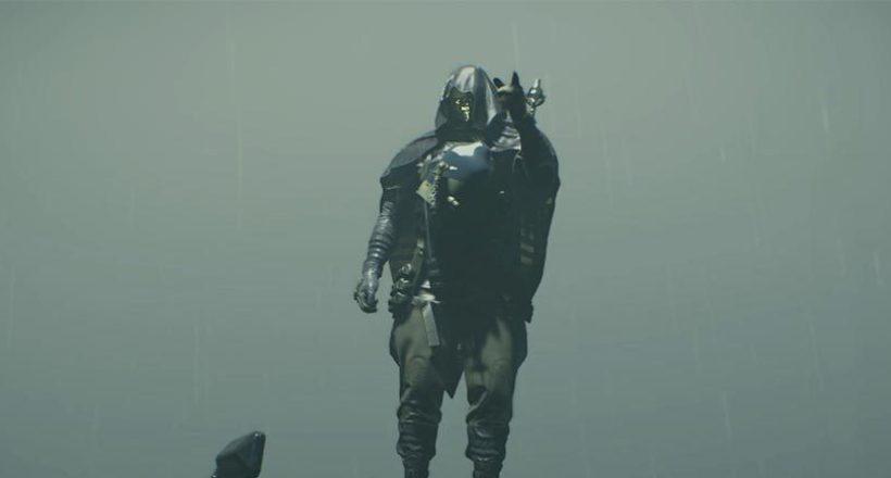 Death Stranding, il nuovo trailer ci mostra l'uomo con la maschera d'oro