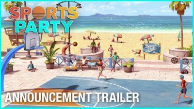 Sports Party arriva il 30 ottobre su Nintendo Switch, ecco il trailer