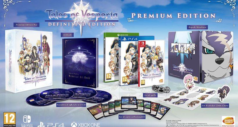 Tales of Vesperia, la Premium Edition sarà presto prenotabile