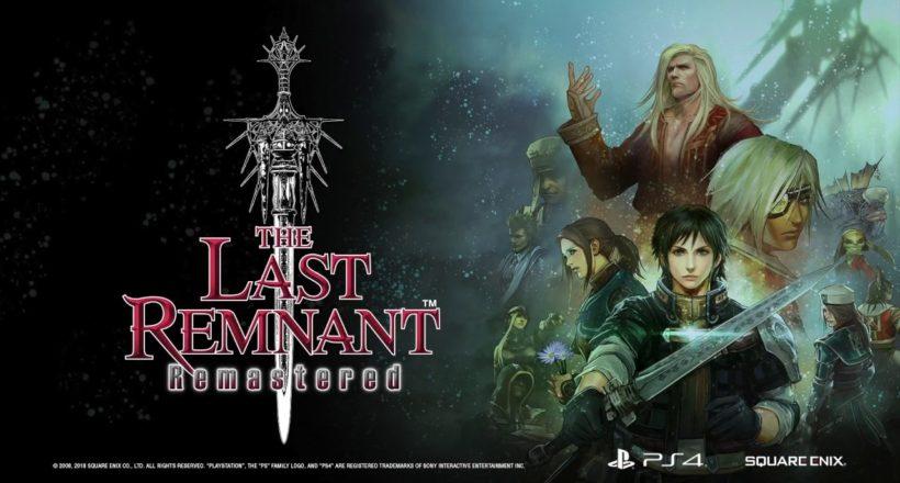 The Last Remnant Remastered è ora disponibile per PlayStation 4
