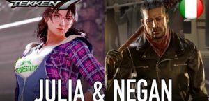 Tekken 7, arrivano anche Negan e Julia Chang tramite i DLC 8 e 9