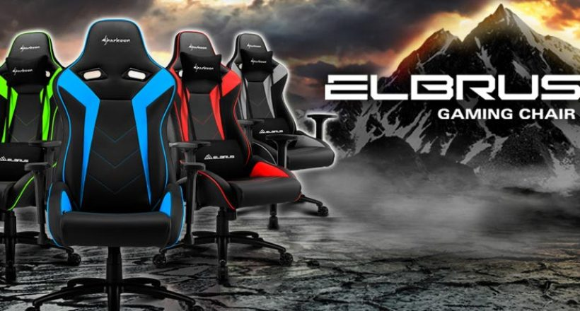 Sharkoon presenta Elbrus 3: ecco il video e tutti i dettagli della nuova sedia da gaming