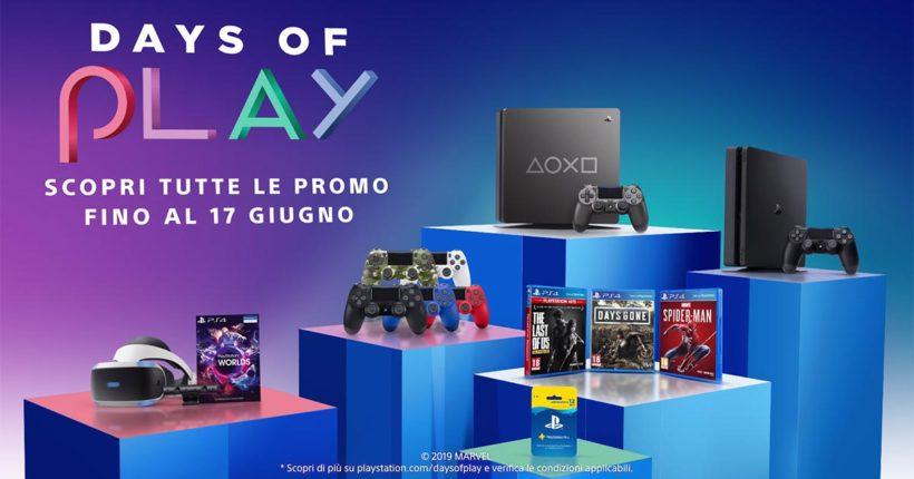 Days of Play 2019: Sony svela gli sconti su giochi, console e abbonamenti