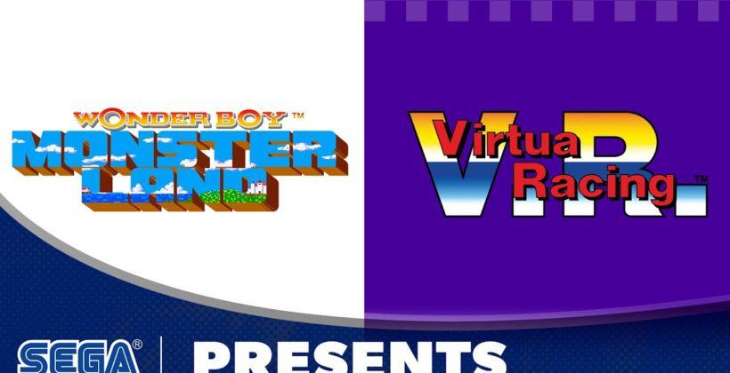 SEGA AGES, su Nintendo Switch arrivano Virtua Racing e Wonder Boy: Monster Land