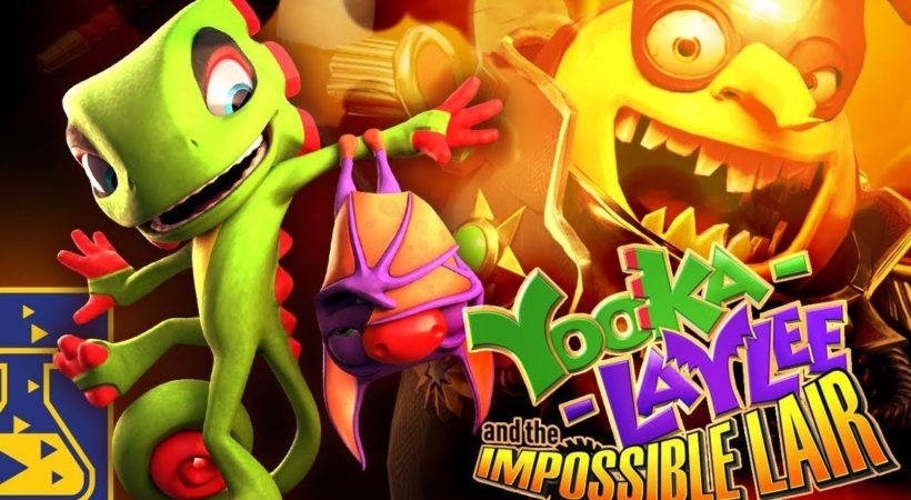 Yooka-Laylee and the Impossible Lair annunciato con un trailer all'E3 2019