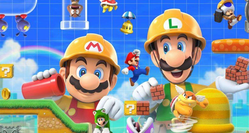 Super Mario Maker 2 si aggiorna su Nintendo Switch con la modalità Crea un mondo