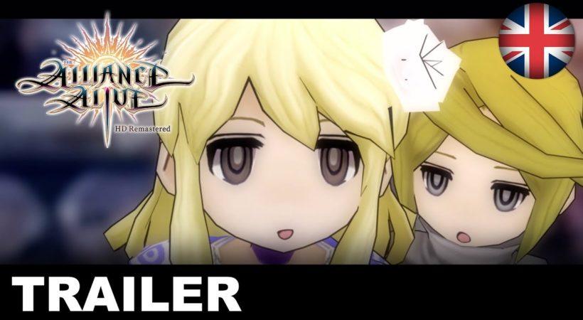 The Alliance Alive HD Remastered, ecco il nuovo trailer dedicato ai personaggi