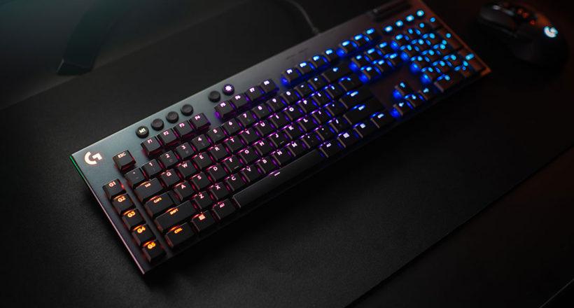 Logitech G presenta le nuove tastiere G915 Lightspeed e G815 Lightsync RGB