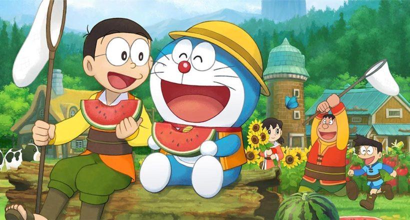 Doraemon Story of Seasons, annunciata la data di uscita su Playstation 4