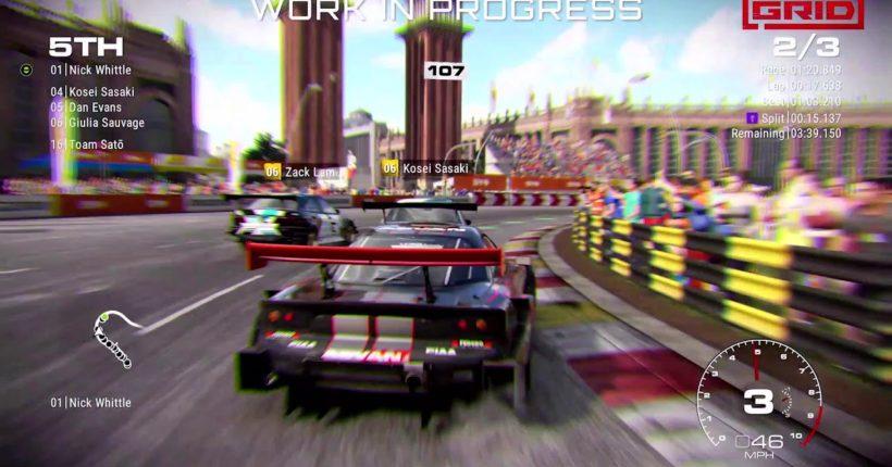 GRID sarà giocabile per la prima volta alla Gamescom 2019
