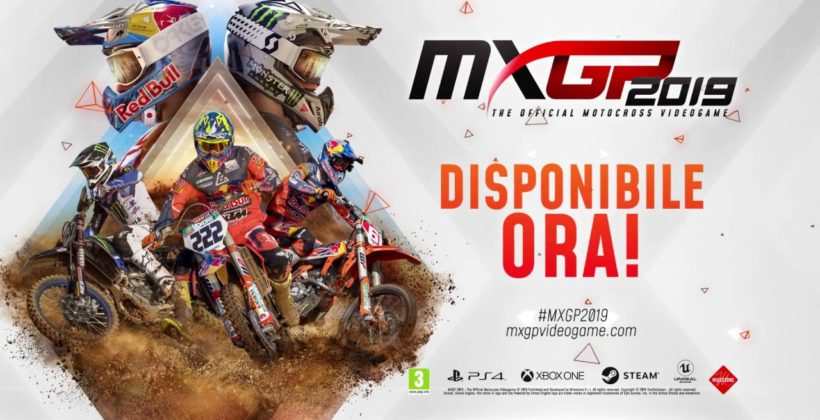 MXGP 2019 è disponibile da oggi per PlayStation 4, Xbox One e Windows PC