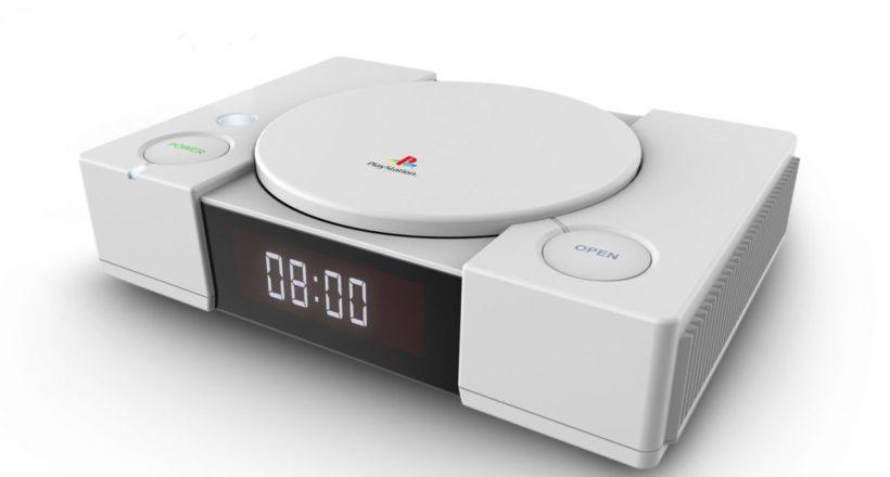 La sveglia Playstation in stile PS1 e l'altoparlante bluetooth arrivano a ottobre in Italia