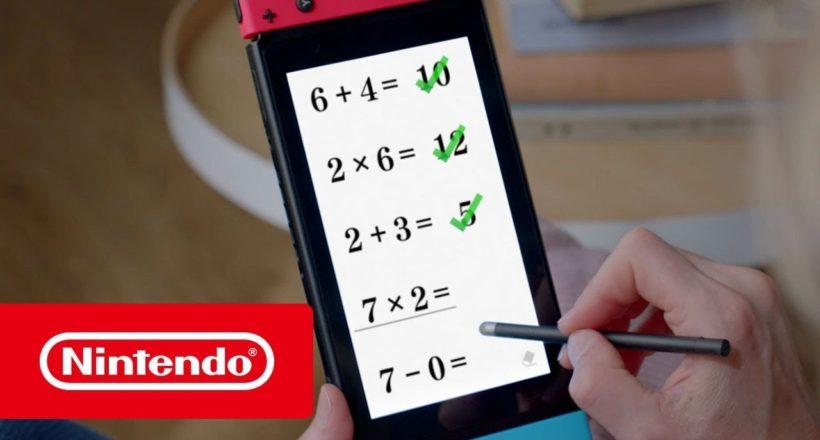 Brain Training del Dr. Kawashima è disponibile da oggi su Nintendo Switch