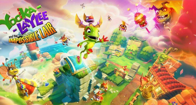 Yooka-Laylee and the Impossible Lair è gratis su Epic Game Store, ma solo per poche ore