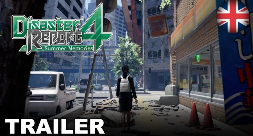 Disaster Report 4: Summer Memories è ora disponibile su PS4, Nintendo Switch e PC
