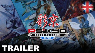 Psikyo Shooting Stars Alpha è disponibile su Nintento Switch, ecco il trailer di lancio