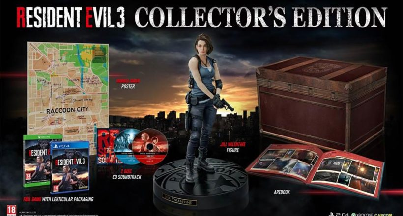Resident Evil 3, la Collector's Edition è ora prenotabile in Europa