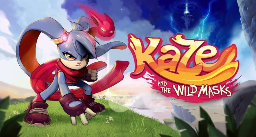 Kaze and the Wild Masks, disponibile da oggi su Steam l'open beta del platform stile anni 90
