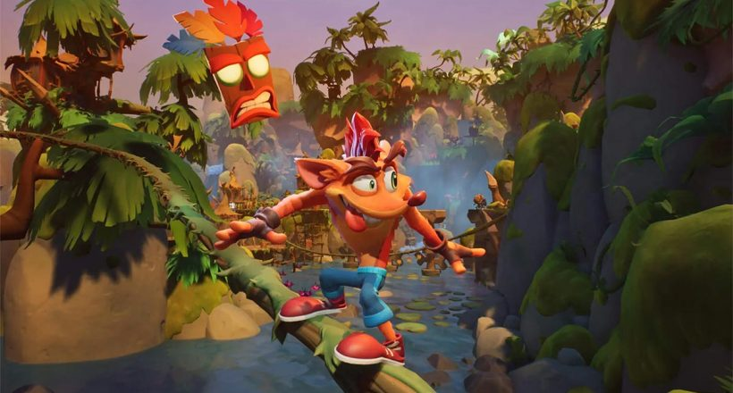 "Crash Bandicoot 4: It's About Time, presentati i nuovi livelli ""Flashback"""