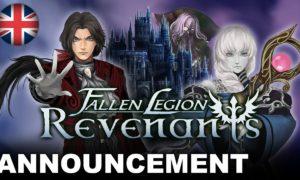 Fallen Legion Revenants annunciato per PlayStation 4 e Nintendo Switch