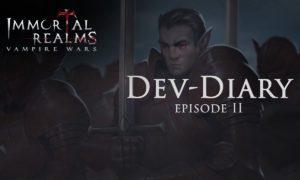 Immortal Realms: Vampire Wars, il nuovo trailer con gli sviluppatori ci presenta il sistema di combattimento