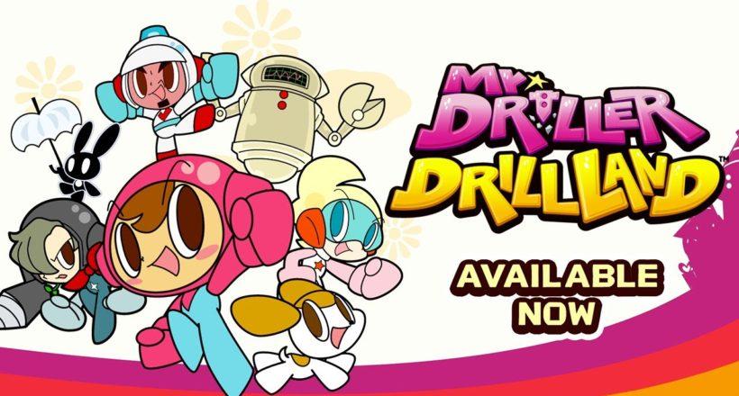 Mr. Driller Drillland disponibile da oggi per Nintendo Switch e PC tramite Steam
