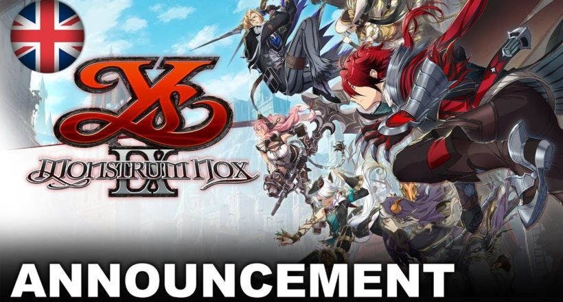 Ys IX: Monstrum Nox annunciato per PS4, PC e Nintendo Switch: arriverà nel 2021
