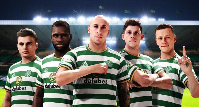 eFOOTBALL PES 2021: Celtic Glasgow e Konami rinnovano la loro partnership
