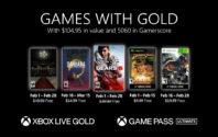 Games with Gold febbraio 2021: ecco i giochi gratis su Xbox One e Xbox Series X/S
