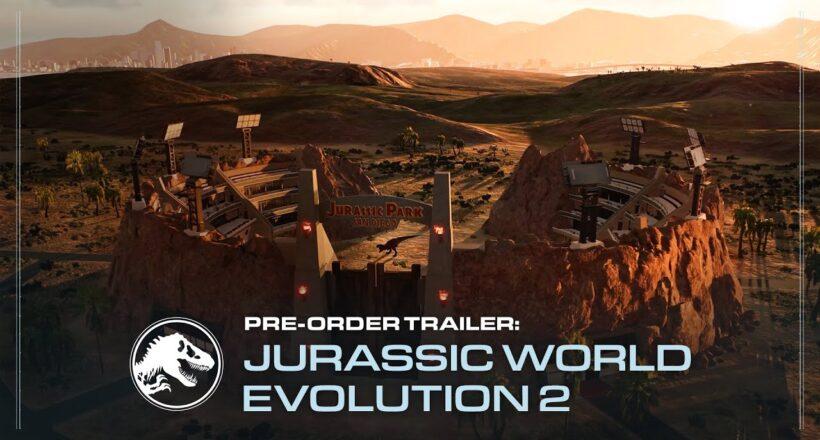 Jurassic World Evolution 2 in arrivo su PC e console: ecco la data di uscita