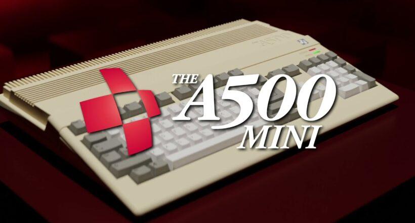 THEA500 Mini, l'Amiga 500 torna in vita in una nuova console: ecco il trailer e tutti dettagli